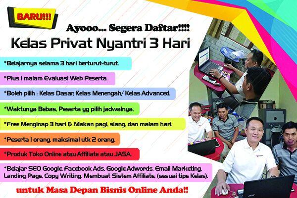 Kelas Privat Bisnis Online