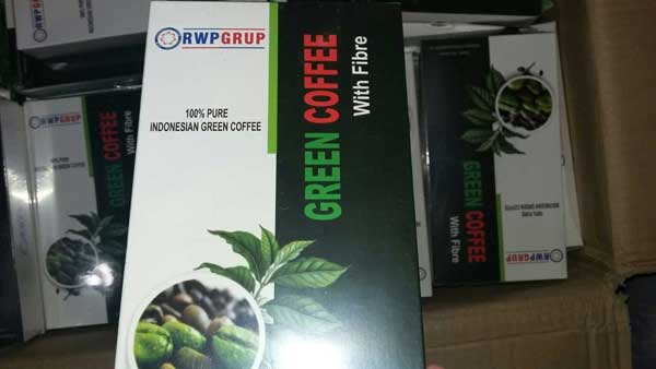 green coffee fibre merk rwp