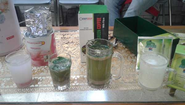 Tes kualitas Produk herbal RWP