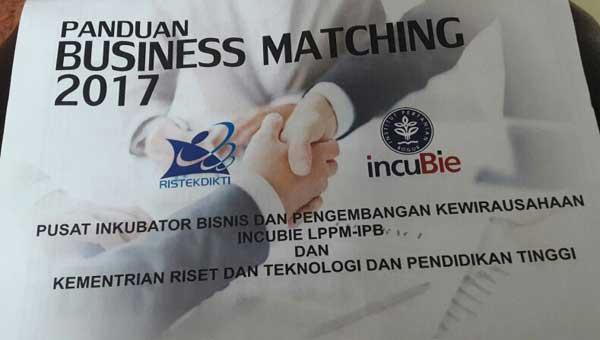 panduan business matching pengusaha IPB
