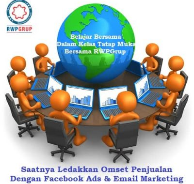 pasang iklan facebook ads & email marketing