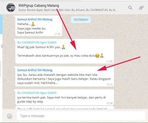 Grup WA RWP Malang