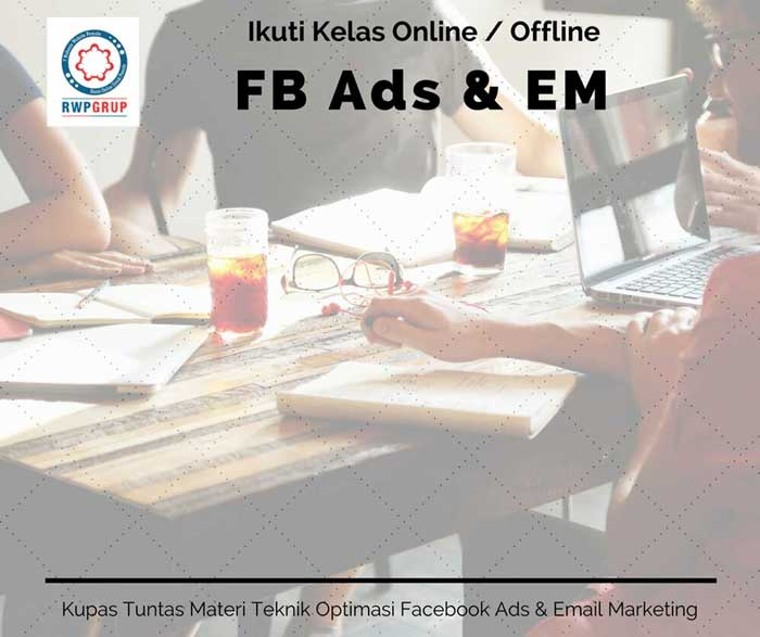 Facebook ads dan email marketing
