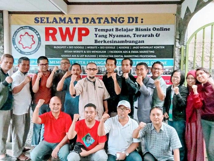 Pelatihan digital marketing rwp grup